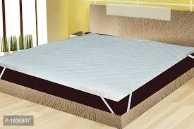 Sleep Matic Waterproof Cotton Fitted King Size Mattress Protector