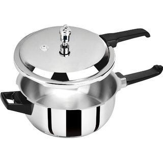 Pristine Sinduction Base Stainless Steel Pressure Cooker