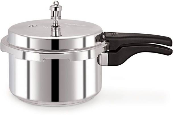 Pristine Tri Ply Induction Base Stainless Steel Handi Pressure Cooker