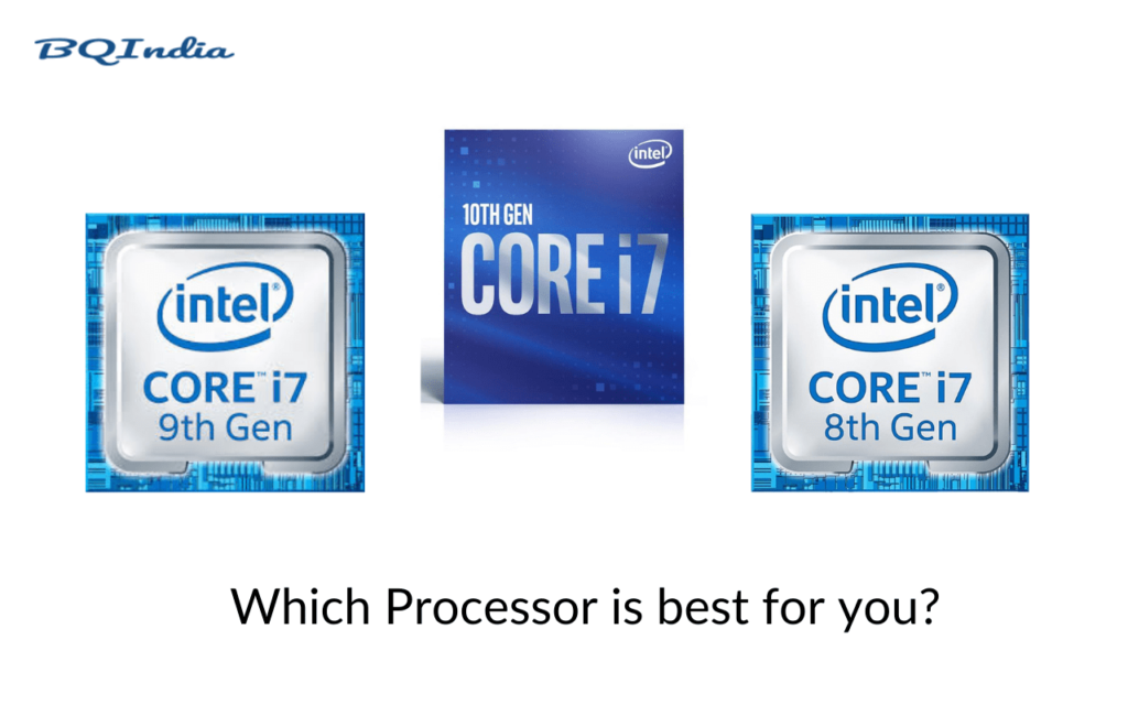 i7 8th Gen vs i7 9th Gen vs i7 10th Gen