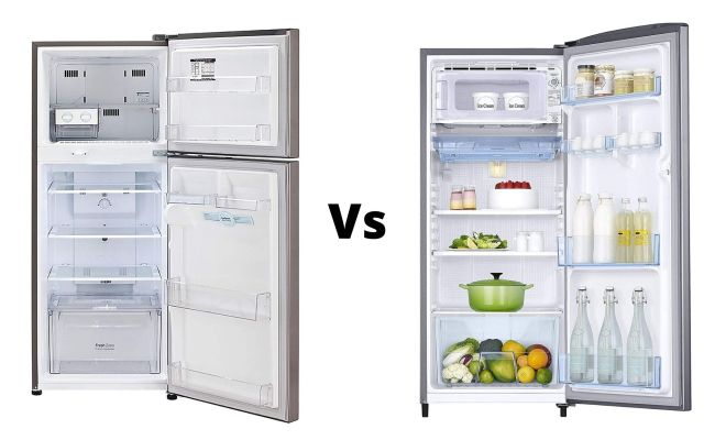 Direct cool refrigerators Vs Frost-free refrigerators